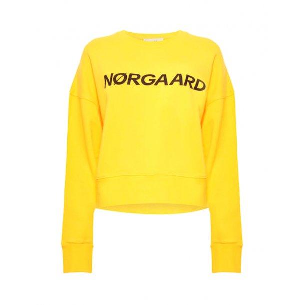 Mads Nørgaard Organic Sweat Tilvina p C YellowMarine